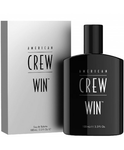 American Crew Win Fragrance - Туалетная вода для мужчин 100 мл