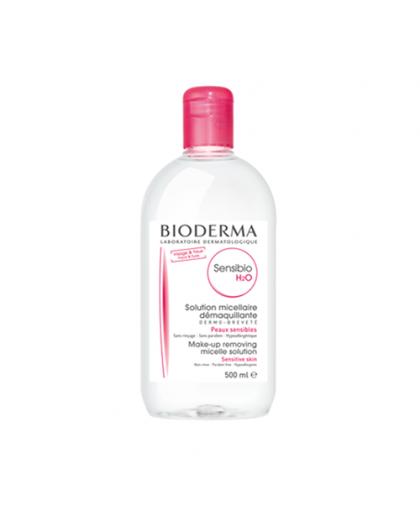 Мицеллярная вода для чувствительной кожи SENSIBIO H2O 500 мл