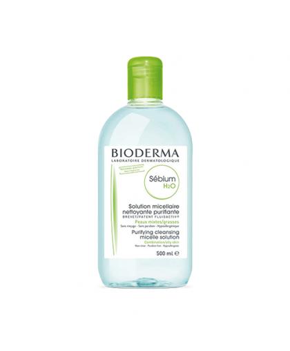 Мицеллярная вода для жирной и комбинированной кожи SEBIUM H2O