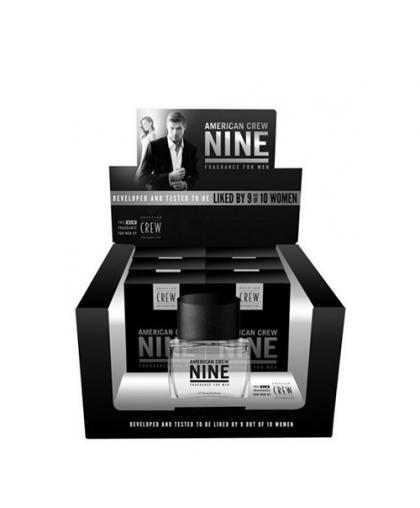 Туалетная вода Nine Fragrance For Men (Коробка-дисплей 6шт. по 75ml + 1 тестер 75ml)