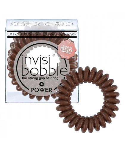 Резинка-браслет для волос POWER Pretzel Brown